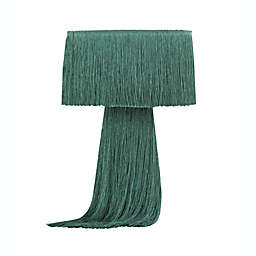 TOV Furniture Atolla Tassel Table Lamp with Fabric Shade