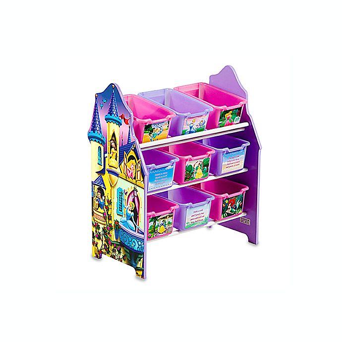 disney princess 9 bin toy organizer by delta buybuy baby