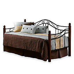 Hillsdale Madison Daybed with Suspension Deck in Black Cherry