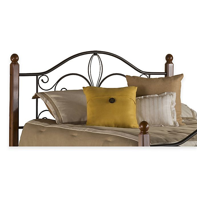 Furniture Outlet Milwaukee: Hillsdale Milwaukee Headboard With Rails In Black Cherry