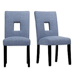 iNSPIRE Q® Hayden Keyhole Side Chairs (Set of 2)