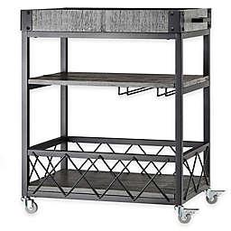 iNSPIRE Q® Parkway Bar Cart in Grey