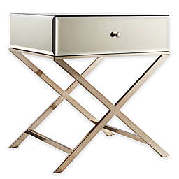 iNSPIRE Q® Stella Mirrored Accent Table