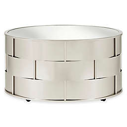 iNSPIRE Q® Rivina Mirrored Top Cocktail Table