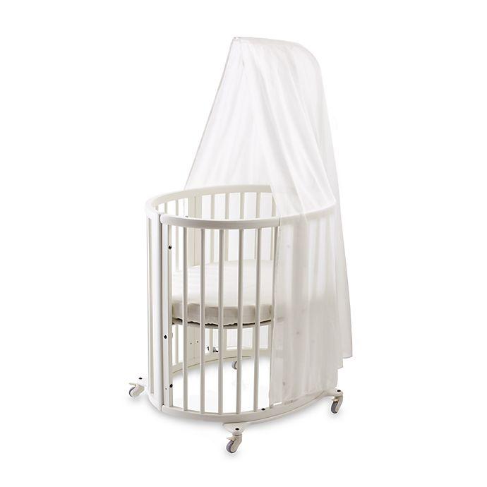 Alternate image 1 for Sleepi™ Bassinet White Canopy by Stokke®
