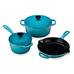 Le Creuset® Signature 5-Piece Cookware Set in Caribbean