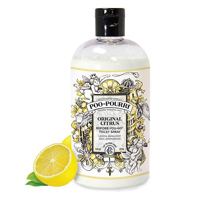 Alternate image 1 for Poo-Pourri® Before-You-Go® 16 oz. Toilet Spray in Original Citrus