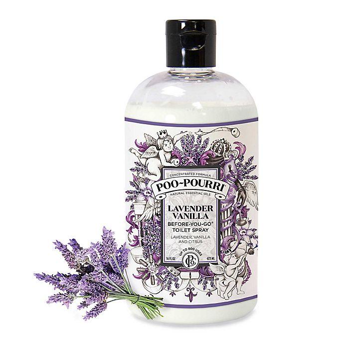 Alternate image 1 for Poo-Pourri® Before-You-Go® 16 oz. Toilet Spray in Lavender Vanilla