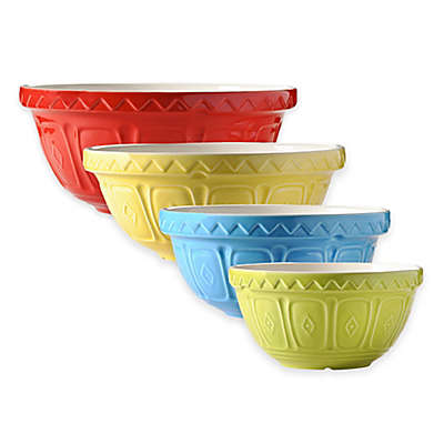 Mason Cash® Geometric Embossed Mixing Bowls