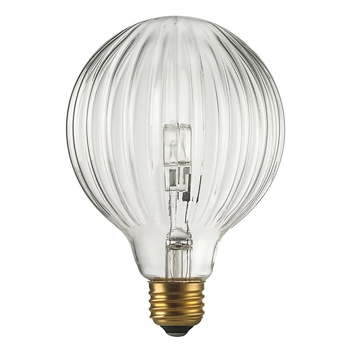 40 Watt Halogen Light Bulbs: Globo 40-Watt Halogen Light Bulb In Clear
