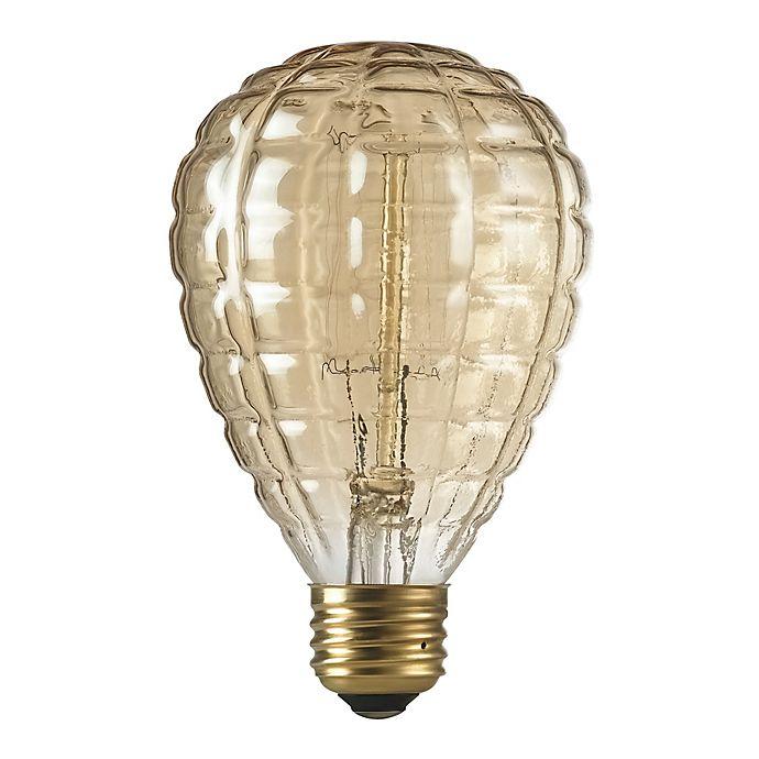 Alternate image 1 for Granade 40-Watt Light Bulb in Amber