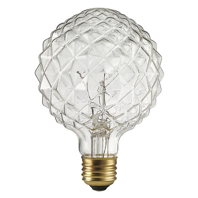 40 Watt Halogen Light Bulbs: Buy Crystalina 40-Watt Halogen Light Bulb In Clear From