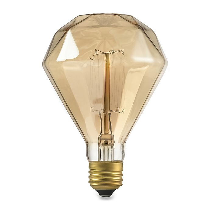 Alternate image 1 for Diamante 40-Watt Light Bulb in Clear