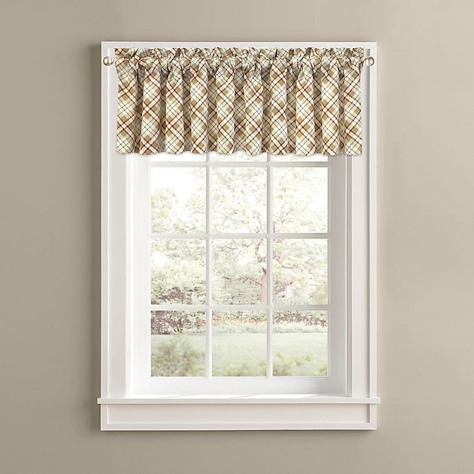 Alternate image 1 for Woodland Plaid Window Valance