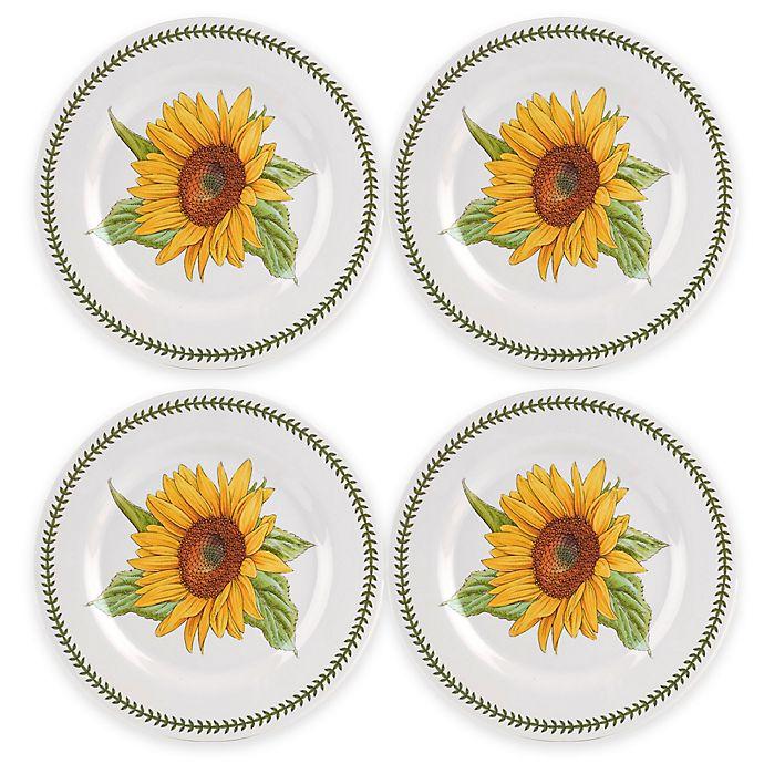 Alternate image 1 for Portmeirion® Botanic Garden Melamine Dinner Plates (Set of 4)