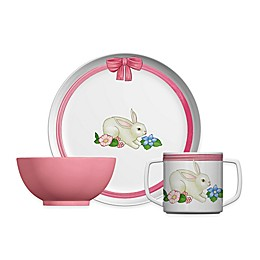 Portmeirion® Botanic Garden Terrance Bunny 3-Piece Plate and Bowl Set