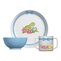 Portmeirion® Botanic Garden Frog 3-Piece Plate and Bowl Set