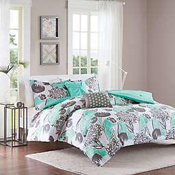 Intelligent Design Marie Comforter Set in Aqua