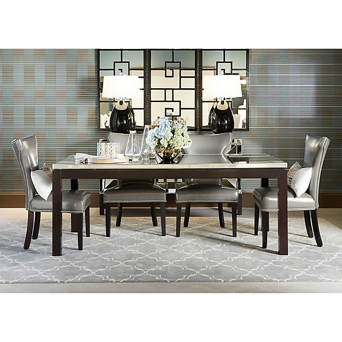 Bassett Furniture Dining Chairs: Bassett Mirror Company Nelson Shaped Parsons Dining Chairs