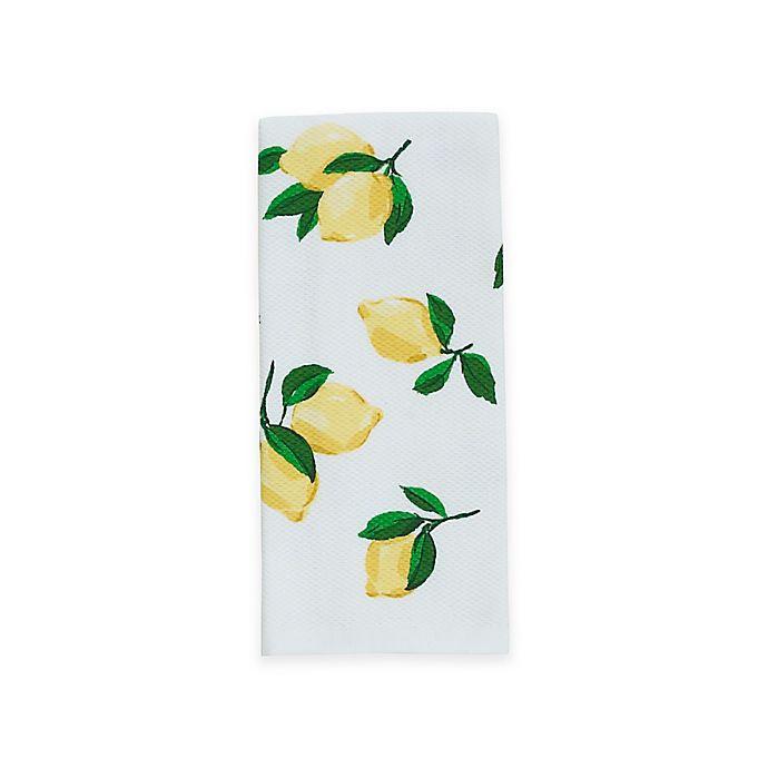 Alternate image 1 for kate spade new york Make Lemonade Kitchen Towel