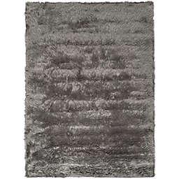 "Safavieh Faux Sheep Skin 2' 6"" x 8' Area Rug in Grey"
