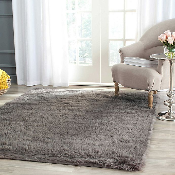Alternate image 1 for Safavieh Faux Sheepskin Area Rug
