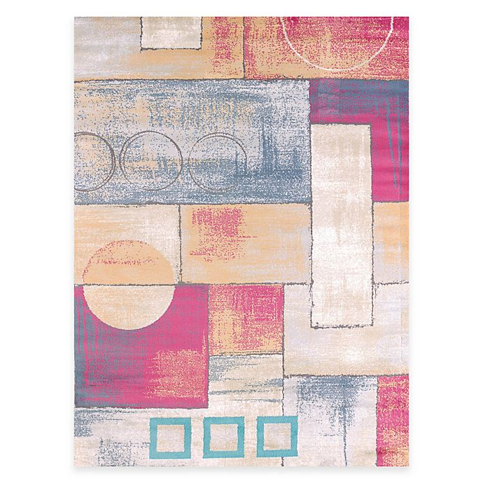 Alternate image 1 for United Weavers Abstract 5-Foot 3-Inch x 7-Foot 2-Inch Indoor Area Rug