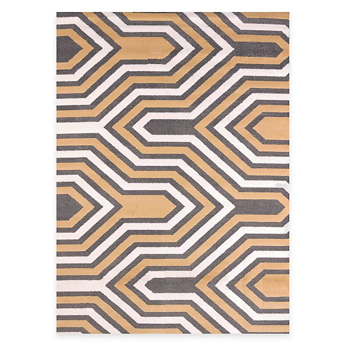 Alternate image 1 for United Weavers Modern Texture Cupola 7-Foot 10-Inch x 10-Foot 6-Inch Area Rug in Harvest