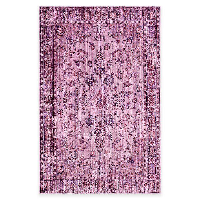 Safavieh Valencia Estel Area Rug In Pink Multi