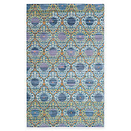 Safavieh Valencia Mirrors 2-Foot x 3-Foot Accent Rug in Lavender/Gold