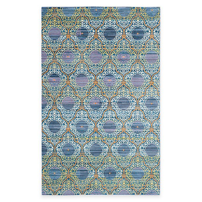 Alternate image 1 for Safavieh Valencia Mirrors Rug in Lavender/Gold