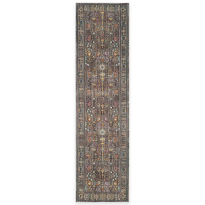 Alternate image 1 for Safavieh Valencia Forest 2-Foot 3-Inch x 12-Foot Runner in Grey/Multi