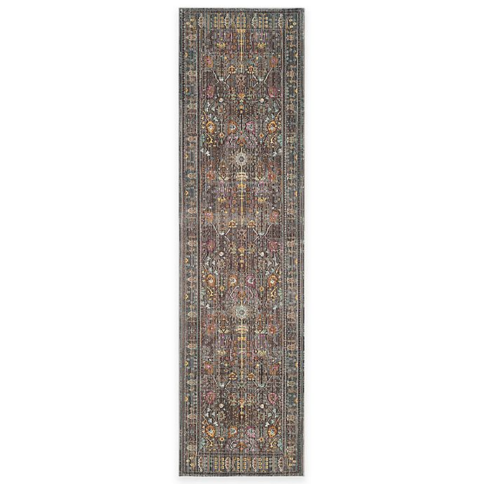 Alternate image 1 for Safavieh Valencia Forest 2-Foot 3-Inch x 8-Foot Runner in Grey/Multi