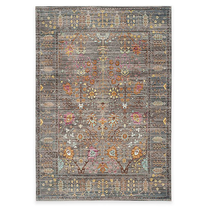 Alternate image 1 for Safavieh Valencia Forest 3-Foot x 5-Foot Area Rug in Grey/Multi