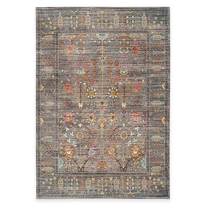 Alternate image 1 for Safavieh Valencia Forest 4-Foot x 6-Foot Area Rug in Grey/Multi