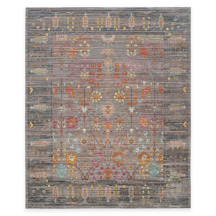 Alternate image 1 for Safavieh Valencia Forest 8-Foot x 10-Foot Area Rug in Grey/Multi
