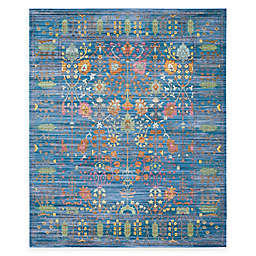 Safavieh Valencia Forest 8-Foot x 10-Foot Area Rug in Blue/Multi
