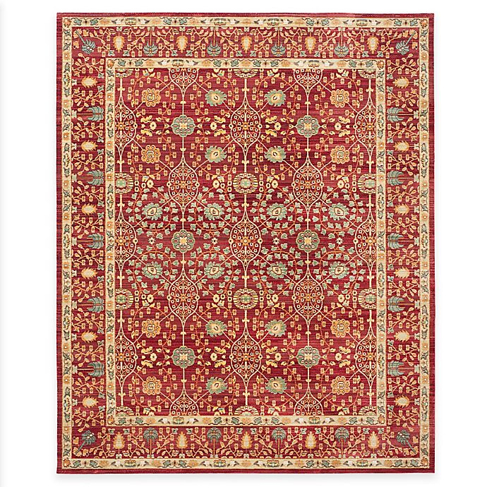 Alternate image 1 for Safavieh Valencia Ogee 8-Foot x 10-Foot Area Rug in Red