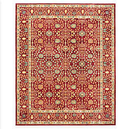 Safavieh Valencia Ogee 9-Foot x 12-Foot Area Rug in Red
