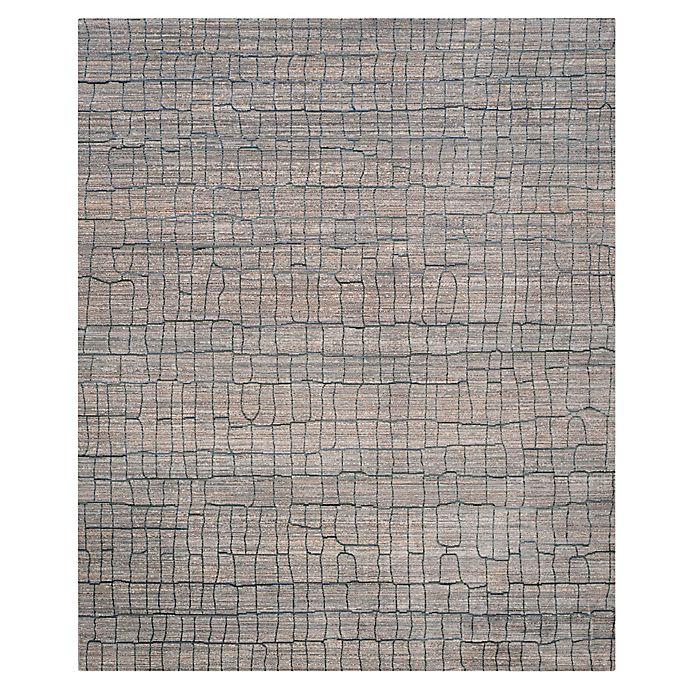Alternate image 1 for Safavieh Valencia Cracked 8-Foot x 10-Foot Area Rug in Grey/Multi