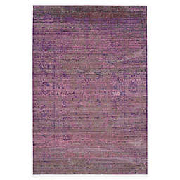 Safavieh Valencia Dove 4-Foot x 6-Foot Area Rug in Lavender/Multi