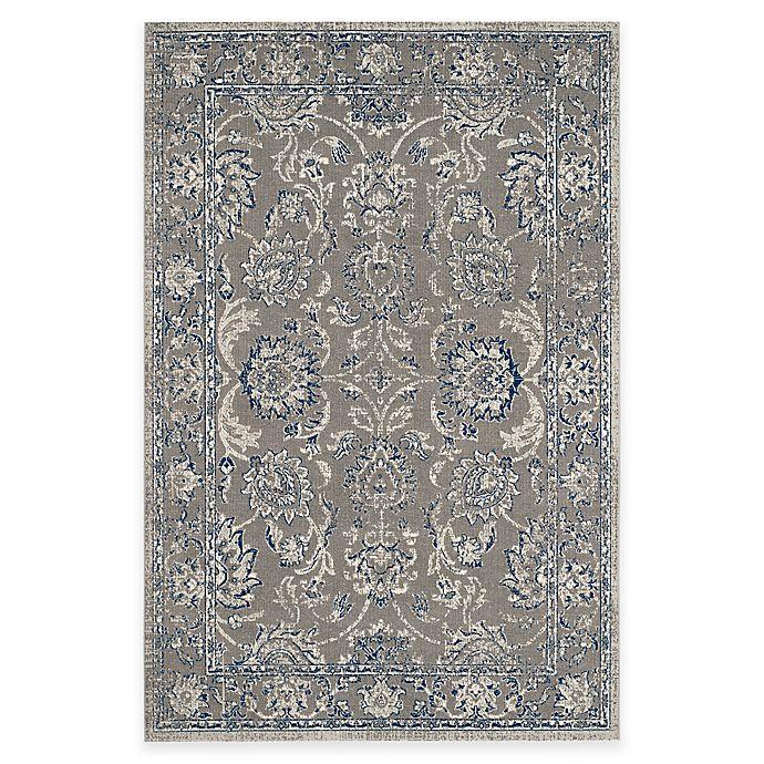 Alternate image 1 for Safavieh Artisan Floral Area Rug in Grey/Blue