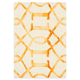Safavieh Dip Dye Entwine 2-Foot x 3-Foot Accent Rug in Ivory/Gold