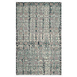 Safavieh Dip Dye Clover 6-Foot x 9-Foot Area Rug in Grey
