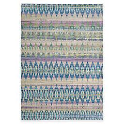 Safavieh Valencia Elros 9-Foot x 12-Foot Area Rug in Purple Multi