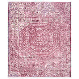 Safavieh Valencia Center Medallion 9-Foot x 12-Foot Area Rug in Fuchsia