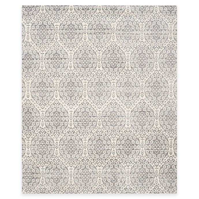 Alternate image 1 for Safavieh Valencia Damask 8-Foot x 10-Foot Area Rug in Mauve/Cream