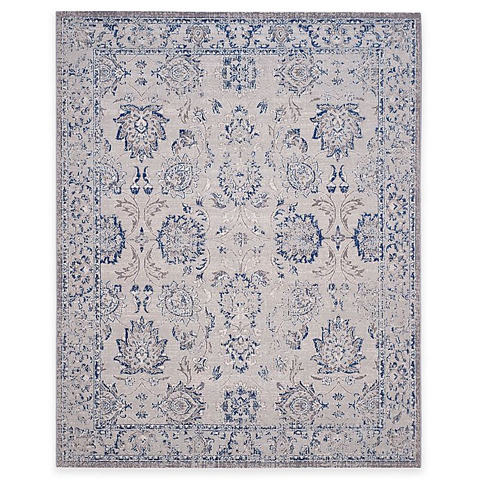 Alternate image 1 for Safavieh Artisan Floral 6-Foot 7-Inch x 9-Foot Area Rug in Silver