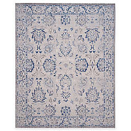 Safavieh Artisan Floral 6-Foot 7-Inch x 9-Foot Area Rug in Silver