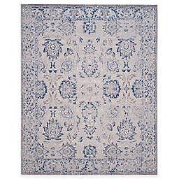Safavieh Artisan Floral 10-Foot x 14-Foot Area Rug in Silver